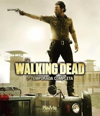 Blu Ray Box The Walking Dead - 3 Temporada Original