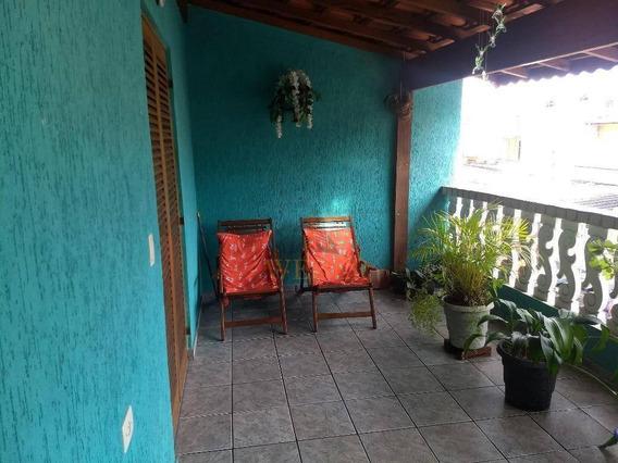 Sobrado 3 Dorms, 1 Suíte, 5 Vagas Cobertas - Jardim Ouro Preto - So0714