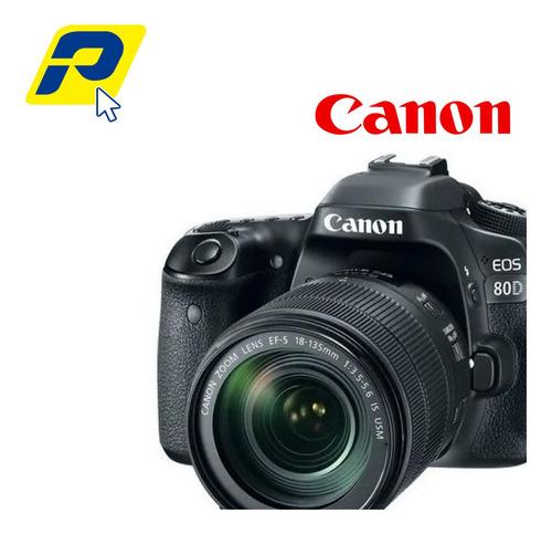Canon Eos 80d  + Lente 18-55mm + Memoria 16gb +tripode