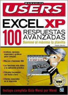 Libro Físico - Excel Xp 100 Respuestas Avanzadas - Users