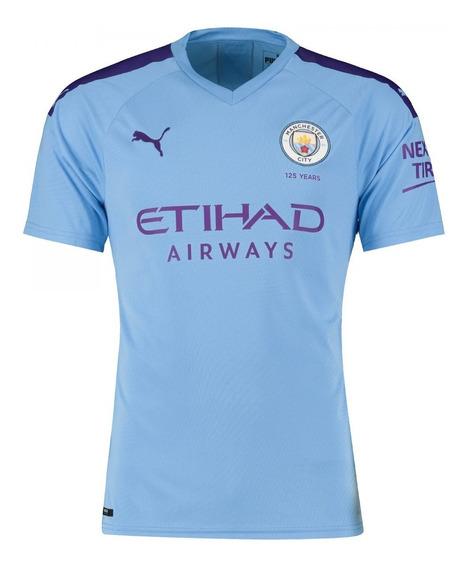 Camiseta Puma Manchester City Oficial 2019/20 De Hombre