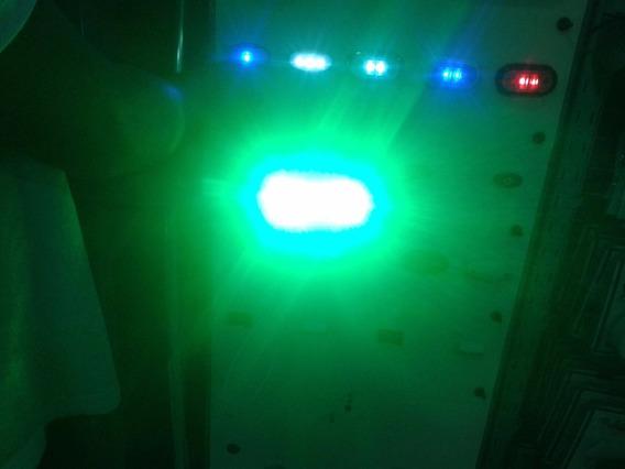 Luz Subaquatica Multicolor/azul/vermelha/verde/amarelo/cyano
