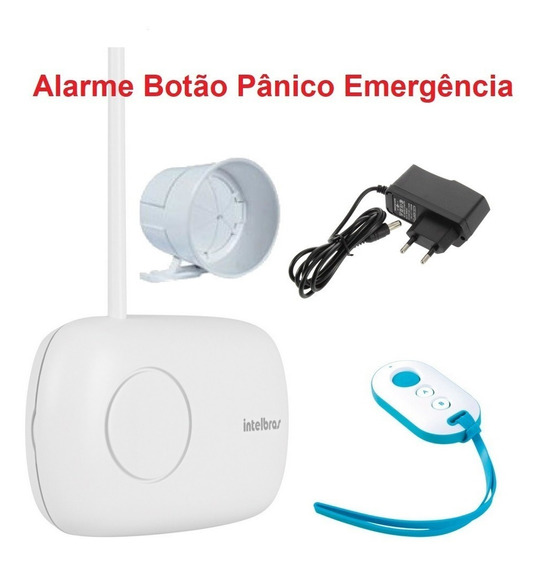 Botão Panico Alarme Emergencia Controle Remoto Sirene Intel