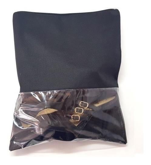 Saco Para Sapato Com Zíper - Kit Com 100 - 33x40cm - Visor G