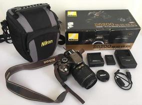 Câmera Nikon D5200 C/ Case Cartão 64gb Carregador Bat Extra