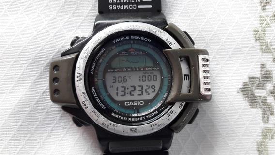 Relógio Casio Atc 1100 Triple Sensor