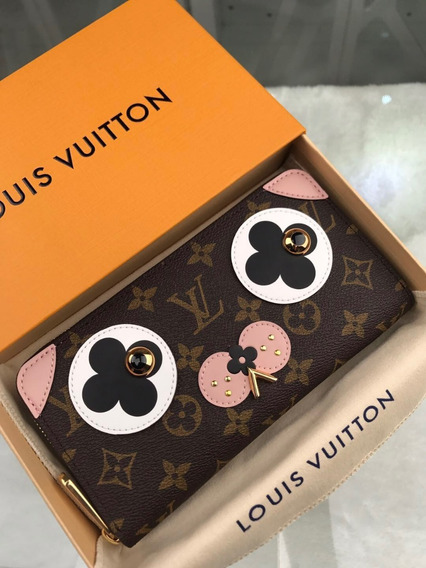 Billetera Louis Vuitton/dama Modelo Exclusivo 2018 En Stock