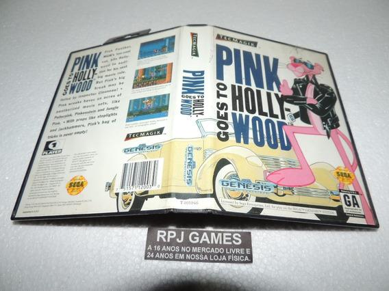 Pink Goes To Hollywood Original C/ Caixa P/ Mega Drive Loja