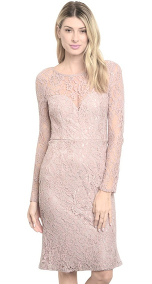 Vestido Corto Crochet Transparencia, Elegante Bautizo Boda.