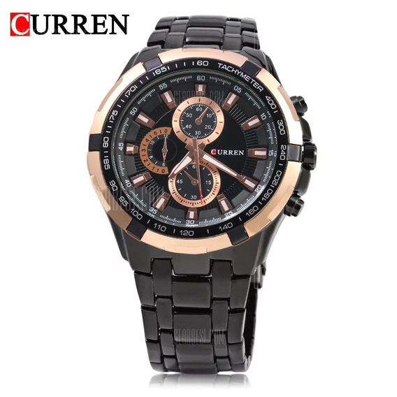 Relógio Curren, Men Quartz Watch