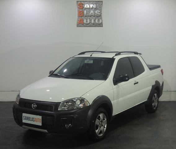 Fiat Strada Working 1.4 8v Cd C/gnc Abs Ab Aa San Blas Auto