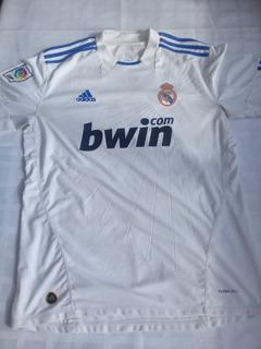 Camiseta Real Madrid Temporada 2010 Ronaldo 7 Talle Xl