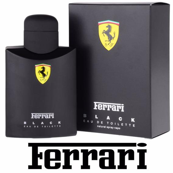 Perfume Ferrari Black Masculino 125 Ml