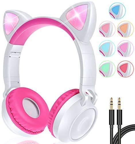 Oído Gbd Gato Niños Auriculares Inalámbricos Con Micrófo