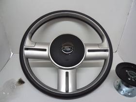 Volante Rally Aluminio Escovado Caminhões Ford Cargo