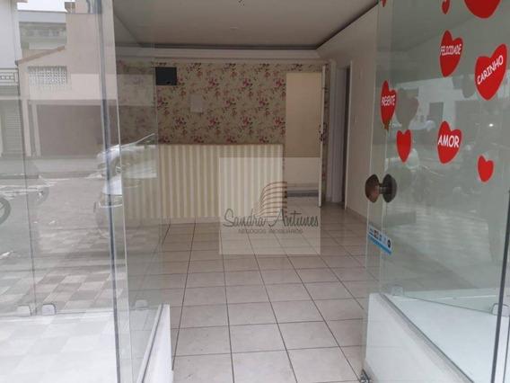Loja Para Alugar Com Ótima Localização, 30 M² Por R$ 3.500/mês - Boqueirão - Santos/sp - Lo0035