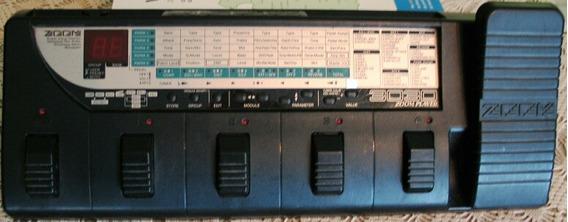Pedalera Guitarra Zoom 3030