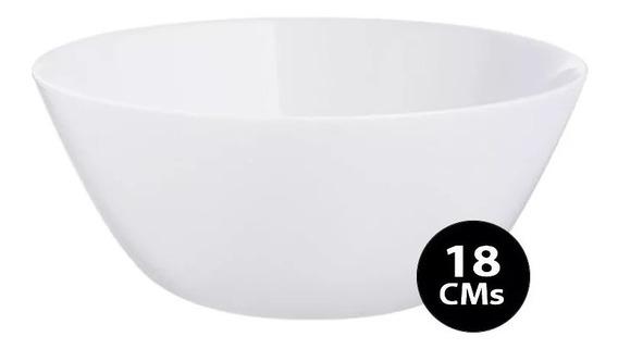 Bowl 18 Cm Ensaladera Luminarc Zelie Vidrio Templado