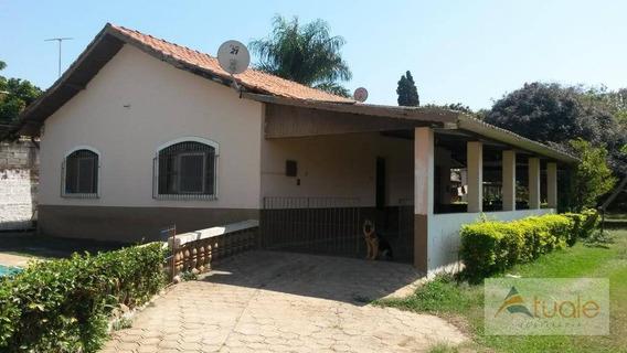 Chácara Com 2 Dormitórios Para Alugar, 1285 M² - Chácaras Acaraí - Hortolândia/sp - Ch0078