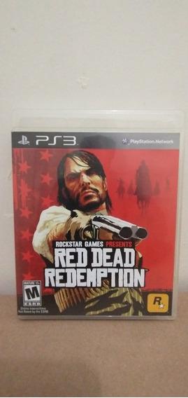 Jogo Red Dead Redemption Mídia Física Ps3 Completo