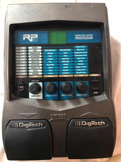 Pedalheira Guitarra Digitech Rp150 Com Fonte