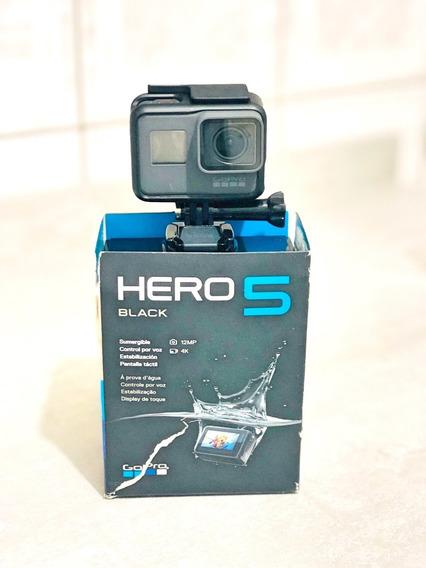 Gopro Hero 5 Black + Kit Acessórios/ Maleta + Cartão Micro Sd Sdxc Sandisk Extreme Pro 64gb 170mb/s U3 A2