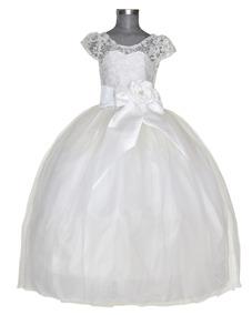 Vestido Niña De Lujo Primera Comunión Elegante Sasha