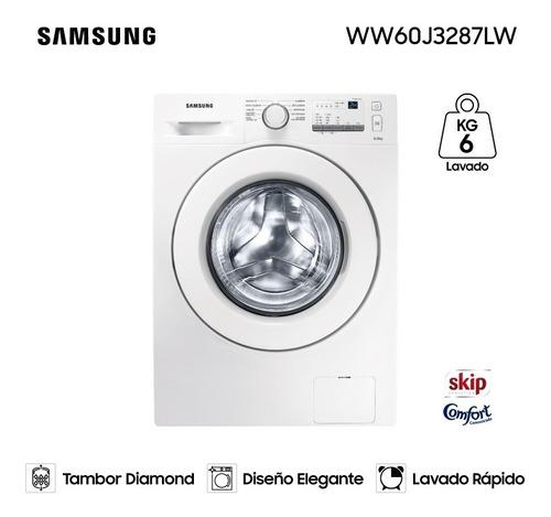 Lavarropas Samsung Carga Frontal 6kg Ww60 Garantía Oficial