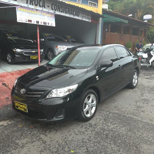 Toyota Corolla 1.8 16v Gli Flex Aut.4 Pts U.dona Bx Km Novo