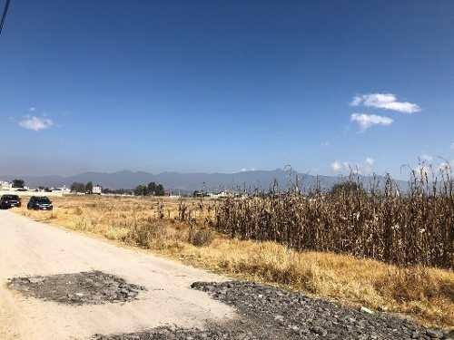 Terreno En Venta, Otzolotepec, Estado De México