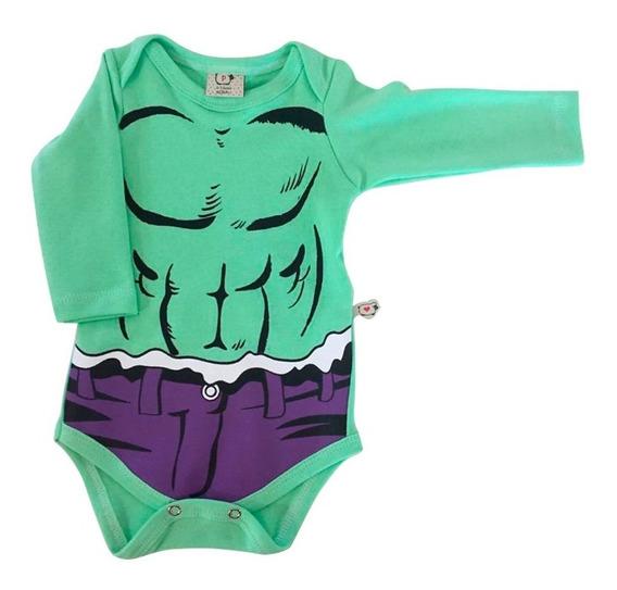 Body Bebê Infantil Hulk