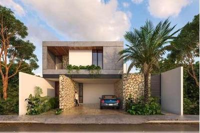 Residencia Nueva En Venta En Privada Novara, Lote 12, Temozón, Mérida Norte