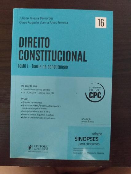 Direito Constitucional Tomo I E Ii - Juliano Taveira