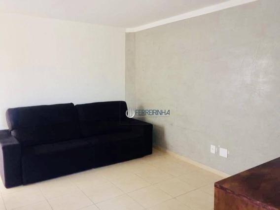 Cobertura Com 2 Dormitórios Para Alugar, 111 M² Por R$ 1.908/mês - Jardim América - Ap3474