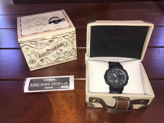 Relógio Baby-g Hello Kitty Damas Ediçãolimitada Bga-190kt-1b