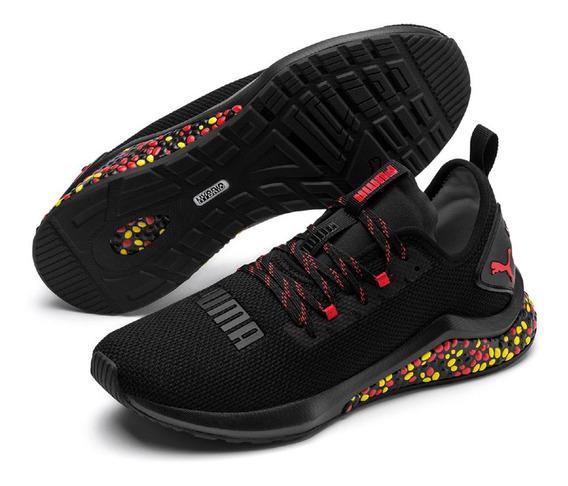 Tenis Puma Hybrid Nx - Training - Preto Vermelho