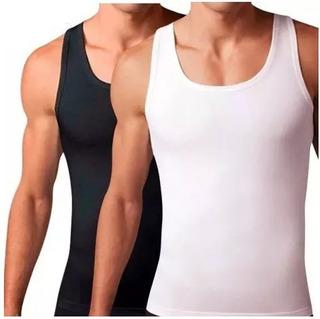 Camisa Faja Reductora Hombres Esqueleto Geordi Original