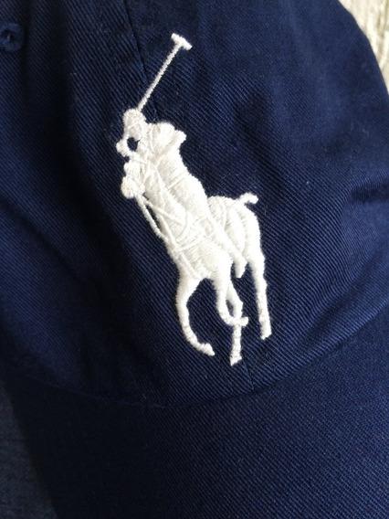 Gorra Polo 100% Original Modelo Big Pony Ajuste En Piel