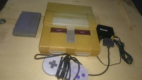 Super Nintendo Completo Com Todos Super Mario Snes 003
