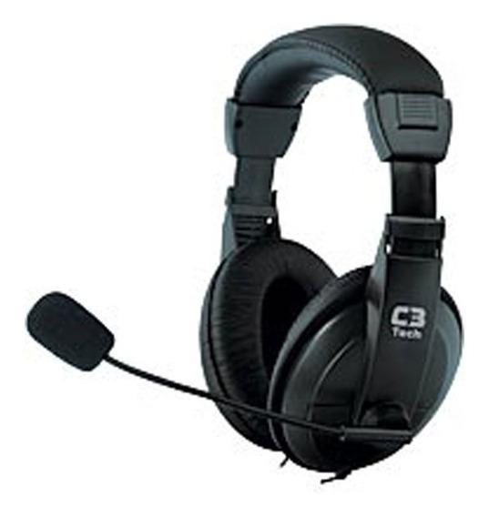 Fone De Ouvido C3 Tech Mi-2260arc Voicer Confort Microfone
