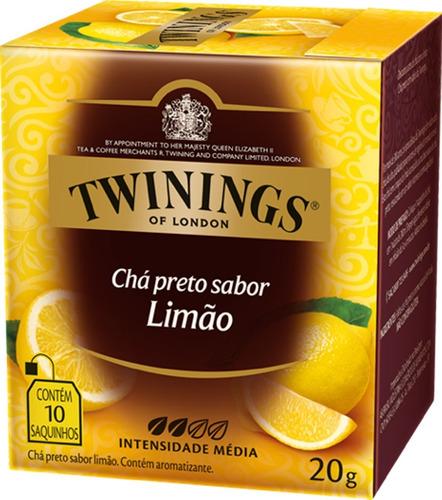 Imagem 1 de 1 de Chá Twinings Preto Limão 10 Sachês