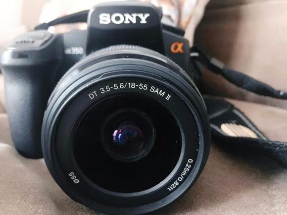 Câmera Profissional Sony A350 Usada