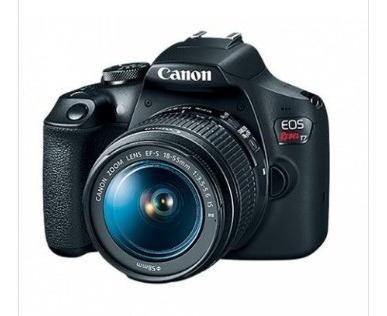 Câmera Eos Rebel T7 Canon Lente 18-55mm Is Ii Frete Grátis