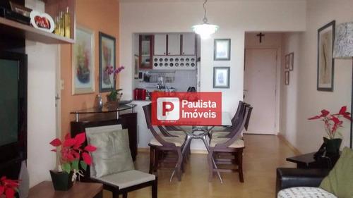 Apartamento Com 3 Dormitórios À Venda, 82 M² Por R$ 790.000,00 - Chácara Santo Antônio (zona Sul) - São Paulo/sp - Ap20408
