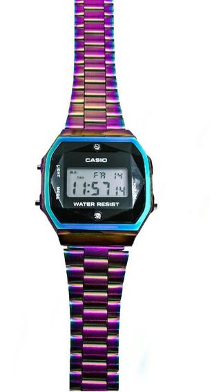 Reloj Vintage Tornasol Negro