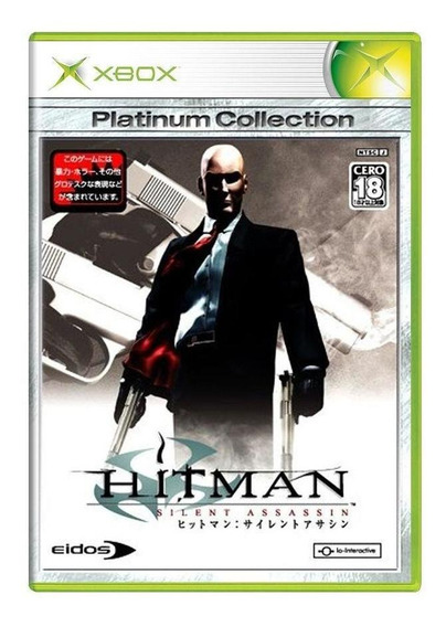Hitman 2 Silent Assassin Xbox Japonês Mídia Física