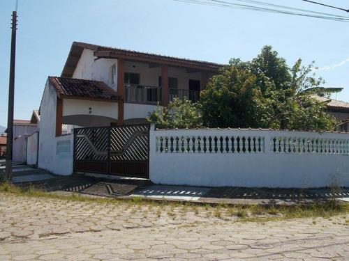 Casa Em Balneário Três Marias, Peruíbe/sp De 200m² 4 Quartos À Venda Por R$ 350.000,00 - Ca534842