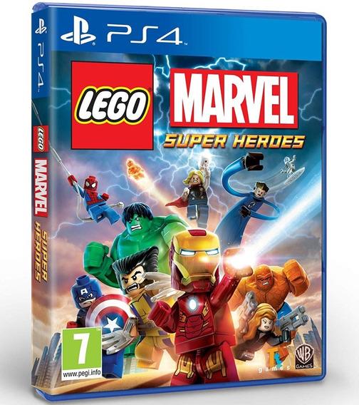 Lego Marvel Super Heroes Ps4 Disco Fisico Cd Original Oferta