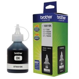 Botella De Tinta Brother Bt6001bk Color Negro