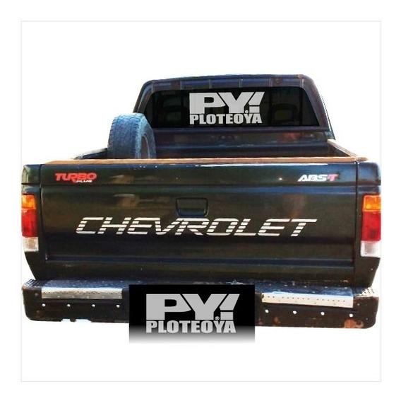 Calco Chevrolet Silverado D20 Calcomania Porton Ploteoya!